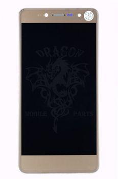 Дисплей (Экран) Nomi i5050 Evo Z с сенсором Золотой Gold, оригинал