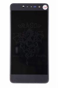 Дисплей (Экран) Nomi i5050 Evo Z с сенсором Темно Синий Dark Blue, оригинал