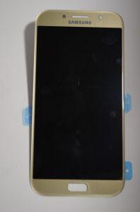Дисплей Samsung A720 Galaxy A7 с сенсором Золотой/Gold оригинал , GH97-19723B
