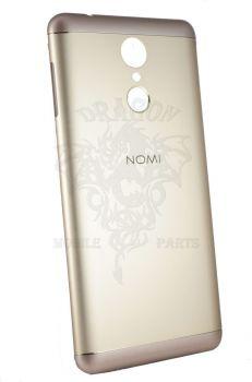 Крышка задняя (панель) Nomi i5050 Золотая Gold, оригинал