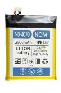 Аккумуляторная батарея (АКБ) Nomi I4070, оригинал