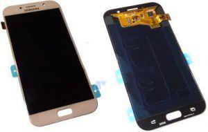 Дисплей Samsung A720 Galaxy A7 с сенсором Розовый/Pink оригинал , GH97-19723D