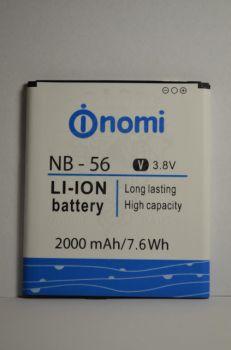 Аккумулятор Nomi i503 (АКБ, Батарея) NB-56, оригинал