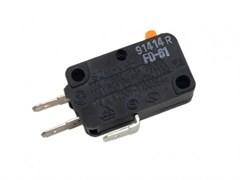 Микровыключатель (3 контакта) СВЧ печи Samsung FD-61, 3405-001032