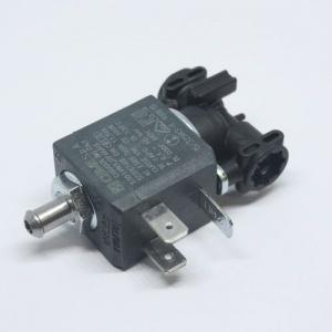 Клапан электромагнитный с переходником прокладками и скобой для кофемашины DeLonghi, 5513225711