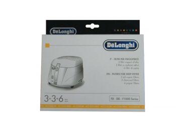 Набор фильтров для фритюрницы DeLonghi (12 шт) 5525101500
