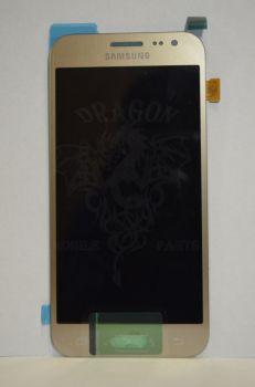 Дисплей Samsung J200 Galaxy J2 с сенсором Gold оригинал , GH97-17940B