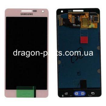 Дисплей Samsung A500 Galaxy A5 с сенсором Pink оригинал , GH97-16679E