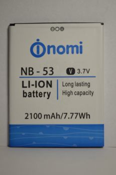 Аккумулятор Nomi i502 (АКБ, Батарея) NB-53, оригинал