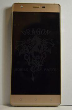 Дисплей Nomi i506 Shine с сенсором Gold, оригинал