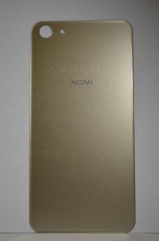 Задняя крышка Nomi i5030 EVO X золотая, оригинал