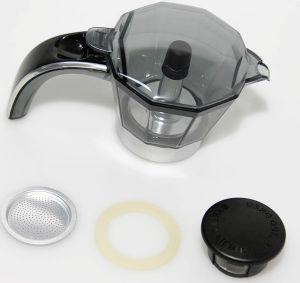 Колба для гейзерной кофеварки DeLonghi EMKP21.B 5513200389