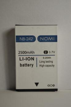 Аккумулятор Nomi i242 (АКБ, Батарея) NB-242, оригинал