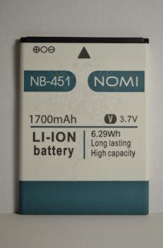 Аккумулятор Nomi i451 (АКБ, Батарея) NB-451, оригинал