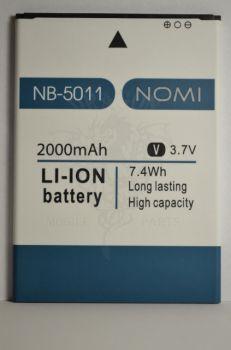 Аккумулятор Nomi i5011 (АКБ, Батарея) NB-5011, оригинал