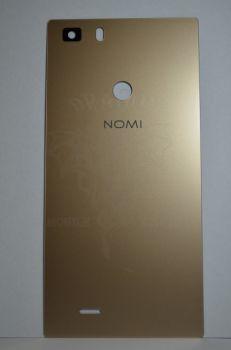 Задняя крышка Nomi i5031 EVO X1 бронзовая, оригинал