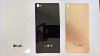 Задняя крышка Nomi i506 Shine белая, оригинал