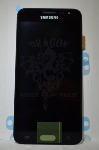 Дисплей Samsung J320 Galaxy J3 с сенсором Black оригинал , GH97-18414C