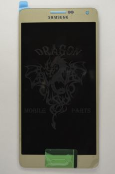 Дисплей Samsung A700 Galaxy A7 с сенсором Gold оригинал , GH97-16922F