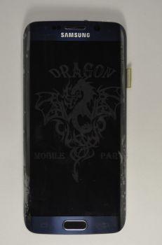 Дисплей Samsung G925 Galaxy S6 Edge с сенсором Black оригинал , GH97-17162A