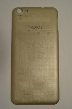 Задняя крышка Nomi i5530 Space X золотая, оригинал