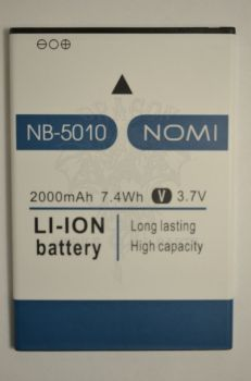 Аккумулятор Nomi i5010 (АКБ, Батарея) NB-5010, оригинал