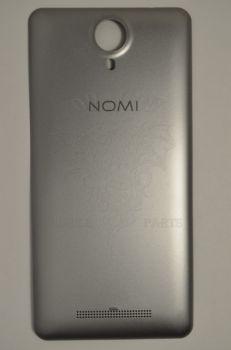 Задняя крышка Nomi i5010 EVO M серебристая, оригинал