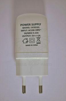Сетевое зарядное устройство Nomi i506 Shine White, оригинал