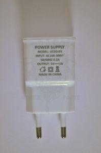 Сетевое зарядное устройство Nomi i504 Dream White, оригинал