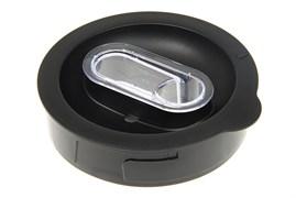Крышка блендерной чаши черная для кухонного комбайна Braun 7322010404