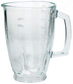 Чаша 1750ml (стекло) для блендера Braun 64184642