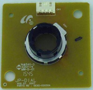 Плата переключения таймера и температуры к духовке Samsung, DE92-02030A