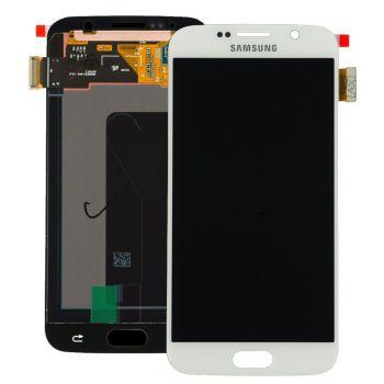 Дисплей Samsung G920 Galaxy S6 с сенсором White оригинал , GH97-17260B