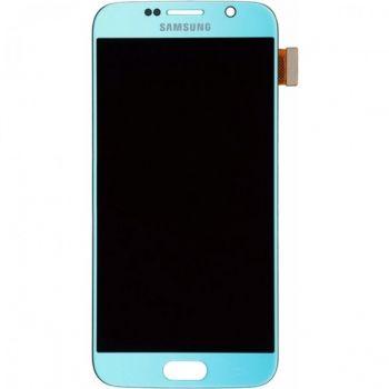 Дисплей Samsung G920 Galaxy S6 с сенсором Blue оригинал , GH97-17260D
