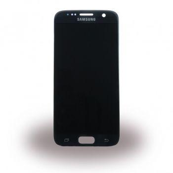 Дисплей Samsung G930 Galaxy S7 с сенсором Black оригинал , GH97-18523A