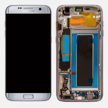 Дисплей Samsung G935 Galaxy S7 Edge с сенсором Silver оригинал , GH97-18533B