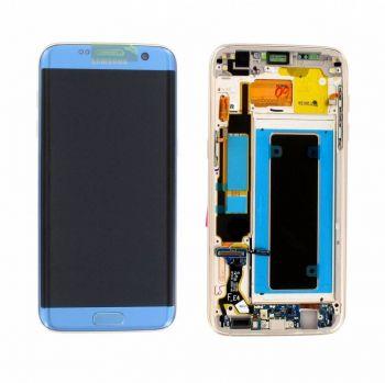 Дисплей Samsung G935 Galaxy S7 Edge с сенсором Blue оригинал , GH97-18533G