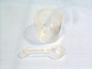 Стакан мерный 240мл с ложкой, для хлебопечки Kenwood KW679327