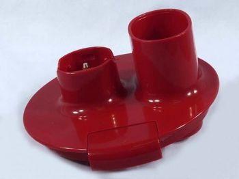 Крышка-редуктор чаши 1000мл, для блендера Kenwood, красная