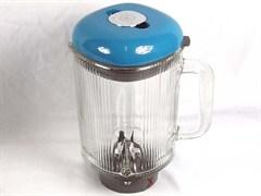 Чаша в сборе для блендера Kenwood, синяя KW714383