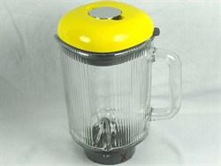 Чаша в сборе для блендера Kenwood, желтая KW714386