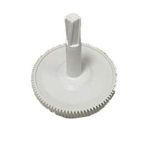 Шестерня большая с валом для кухонного комбайна Moulinex MS-0697459