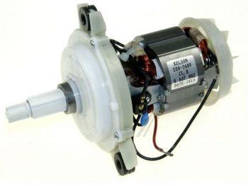 Двигатель с редуктором кухонного комбайна Moulinex (Lвала=35mm)  MS-0A07859