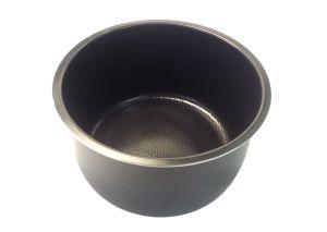 Чаша мультиварки Moulinex черная. 3L D=210mm H=113mm SS-992902