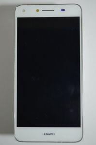 Дисплей Huawei Y5 II CUN-U29 с сенсором WHite&Pink в сборе со слуховым динамиком и шлейфом боковых кнопок, оригинал.