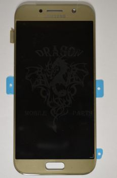 Дисплей Samsung A520 Galaxy A5 с сенсором Золотой/Gold оригинал , GH97-19733B