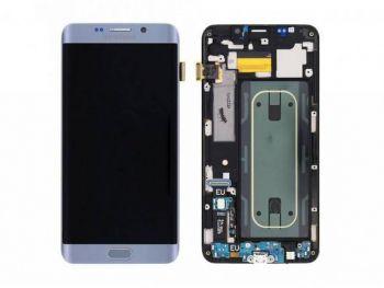 Дисплей Samsung G928 Galaxy S6 Edge plus с сенсором Серебро/Silver оригинал , GH97-17819D