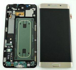Дисплей Samsung G928 Galaxy S6 Edge plus с сенсором Золотой/Gold оригинал , GH97-17819A