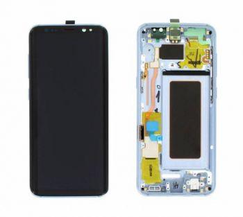 Дисплей Samsung G950 Galaxy S8 с сенсором Голубой/Blue оригинал , GH97-20457D