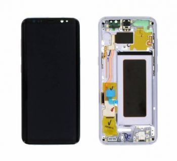 Дисплей Samsung G950 Galaxy S8 с сенсором Violet/Orchid Gray оригинал , GH97-20457C